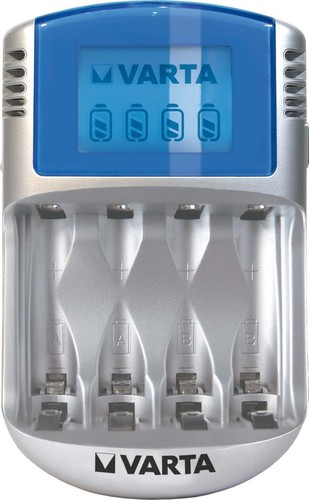 Varta Cons.Varta Ladegerät LCD Charger m.12V+USB 57070