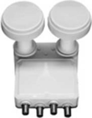 Televes Monoblock-Speisesystem Quad 23mm 0,3dB SPU 24 MF