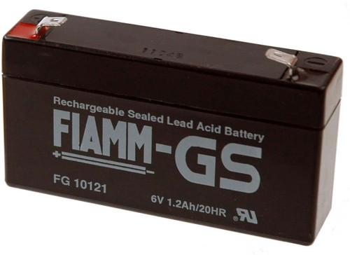 Hückmann Fiamm Blei-Akku FG10121 Pb 6V/1,2Ah 102465