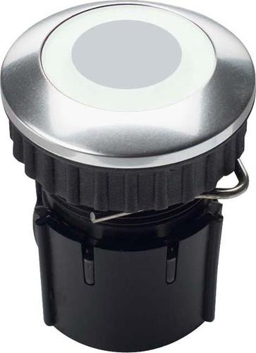 Grothe Klingeltaster LED Ring weiß Edelstahl V2A PROTACT 210 LED