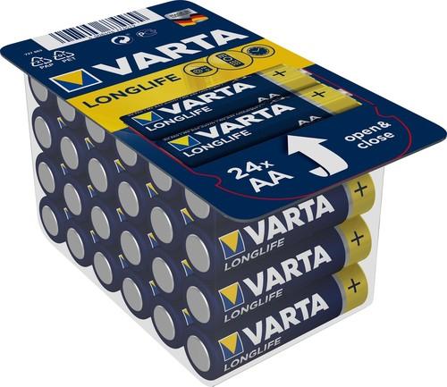 Varta Cons.Varta Batterie Energy AA Mignon. LR6, Al-Mn 4106 Pack 24