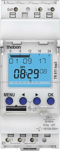 Theben Digitale Zeitschaltuhr Wochenprog. 1K TR 611 top3