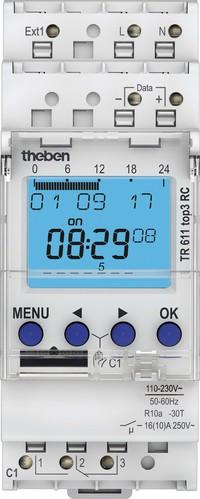 Theben Digitale Zeitschaltuhr Wochenprog. 1K TR 611 top3 RC