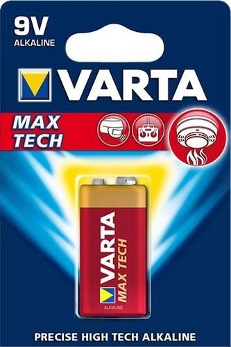 Varta Cons.Varta Batterie Longl.MaxPow. E E-Block, 6LR61,Al-Mn 4722 Bli.1
