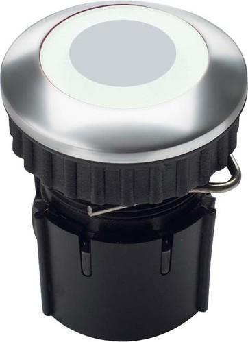 Grothe Klingeltaster LED Ring weiß Alu EV1 PROTACT 230 LED