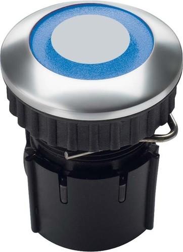 Grothe Klingeltaster LED Ring bl Alu EV1 PROTACT 240 LED
