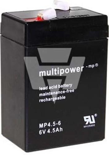 Hückmann Multipower Blei-Akku MP4,5-6 Pb6V/4,5Ah 117696