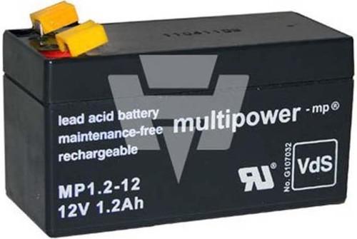 Hückmann Multipower Blei-Akku MP1,2-12 Pb12V/1,2Ah 123578
