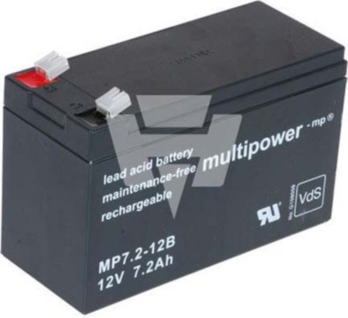 Hückmann Multipower Blei-Akku MP7,2-12BPb12V/7,2Ah 130628