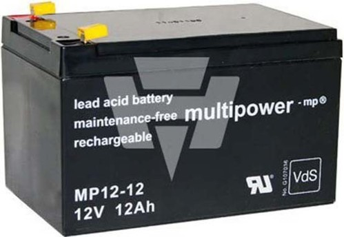 Hückmann Multipower Blei-Akku MP12-12 Pb12V/12Ah 114993