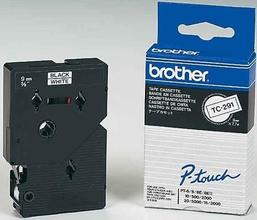 Brother Schriftbandkassette BF.weiß/DF.blau TC-293
