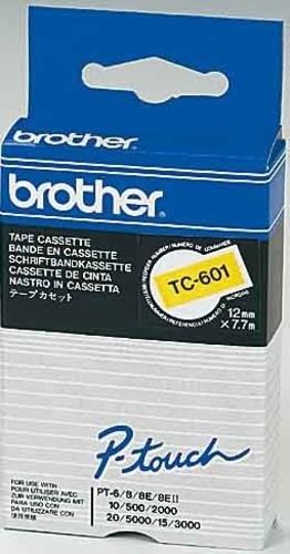 Brother Schriftbandkassette BF.gelb/DF.schwarz TC-691