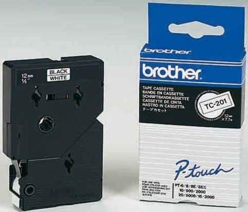 Brother Schriftbandkassette BF.farblos/DF.rot TC-102