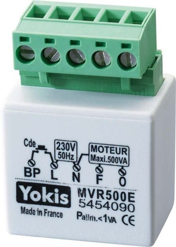 Grothe Rollladenmodul UP Taster max.500W 230V MVR500E