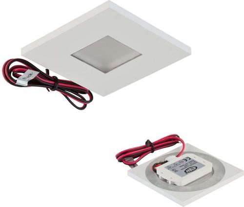 EVN Lichttechnik LED Wandeinbauleuchte 12V 0,6W 3000K LQ 4602 W