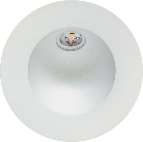 EVN Lichttechnik P-LED Wandeinbauleuchte IP54 700mA 2W 3000K P20302 weiß