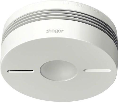Hager Funk-Rauchwarnmelder Komfort Q, weiß TG550A