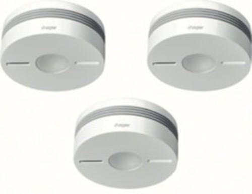 Hager Funk-Rauchwarnmelderset Q, 3xTG550A, weiß TG553A
