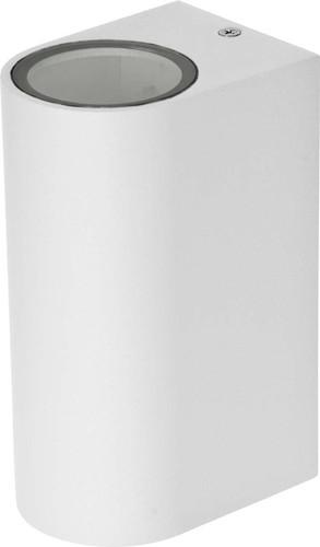 EVN Lichttechnik Wandleuchte 230V GU10 2x11W IP44 637201 weiß