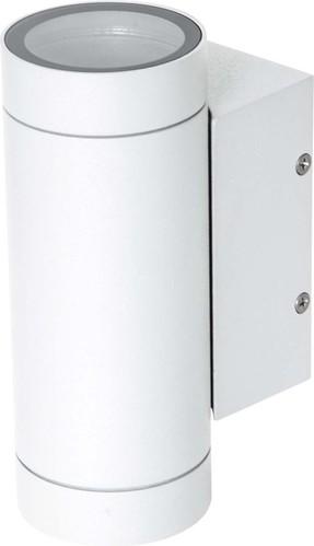 EVN Lichttechnik Wandleuchte 230V GU10 2x11W IP54 637201N weiß