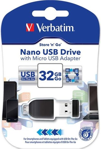 Verbatim Micro USB-Stick 32GB 2.0 VERBATIM 49822