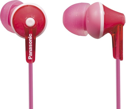 Panasonic Deutsch.CE Ohrkanalhörer RPHJE125EP pink