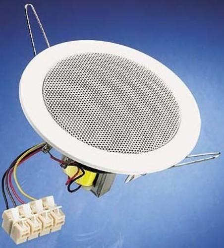 Visaton Deckenlautsprecher Einbau 10cm RAL9010 DL 10 - 100V
