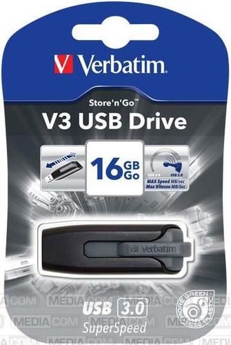 Verbatim USB-Stick 16GB 3.0 Ultra Speed 400x VERBATIM 49172