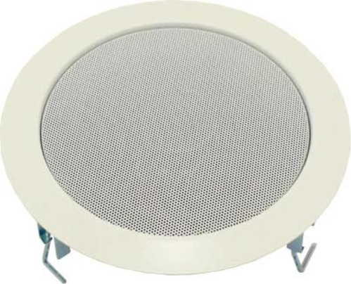Visaton Deckenlautsprecher o. Übertrager,17cm DL 18/2 T 8 Ohm weiß