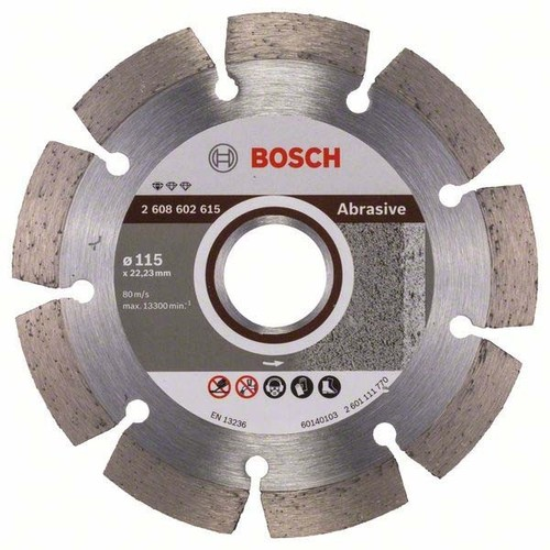Bosch Power Tools Diamanttrennscheibe 115-10-22,23mm 2608602615