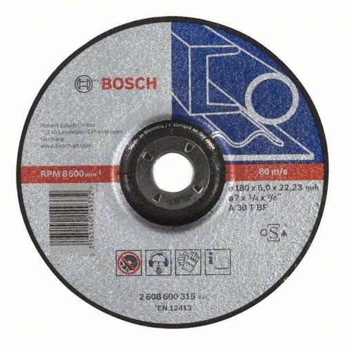 Bosch Power Tools Schruppscheibe 180-6-22mm f. Metall 2608600315