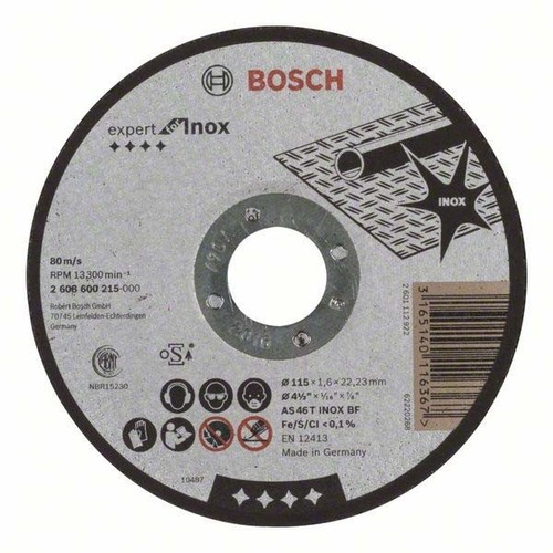 Bosch Power Tools Trennscheibe 115-1,6-2mm 2608600215