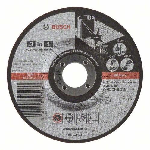 Bosch Power Tools 3-in-1 Scheibe 125 x 2,5mm 2608602389