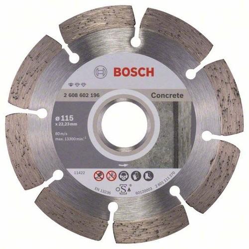 Bosch Power Tools Diamanttrennscheibe 115x22,23mm 2608602196