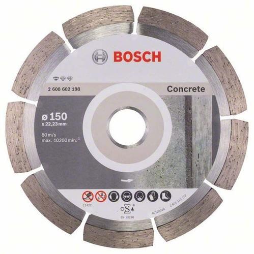 Bosch Power Tools Diamanttrennscheibe 150x22,23mm 2608602198