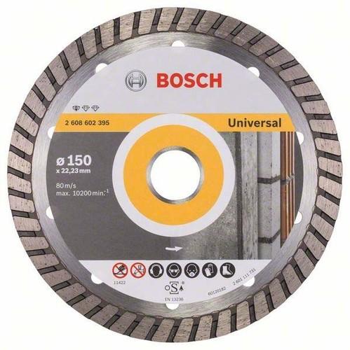 Bosch Power Tools Diamanttrennscheibe 150x22,23mm 2608602395
