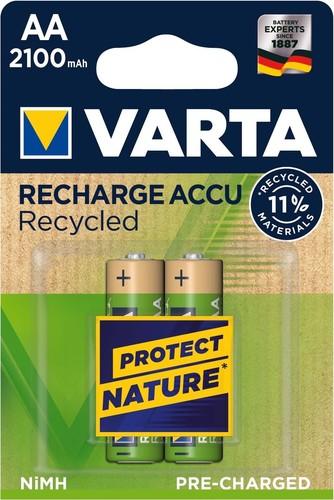 Varta Cons.Varta Recharge Accu Recycled AA 1,2V/1200mAh/NiMH 56816 Bli.2