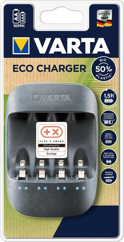 Varta Cons.Varta Ladegerät Eco Charger unbestückt 57680