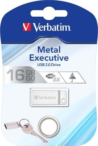Verbatim USB-Stick 16GB 2.0 Metal Executive VERBATIM 98748 si