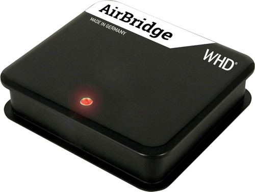 WHD WLAN-Audioempfänger Internetradio-Funkt. AirbridgeTune sw