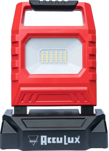 AccuLux LED-Akku-Arbeitsstrahler 15W 230V/12V AccuLux 1500 LED