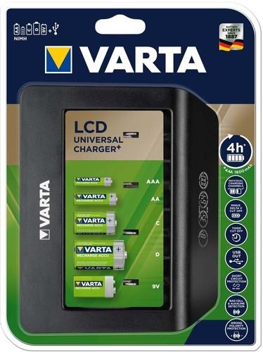 Varta Cons.Varta LCD Universal Charger+ 57688101401