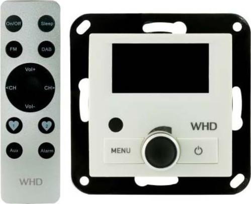 WHD DAB+ Radio-Set UP weiß,mit FB DAB+RadioSetKEL55RC