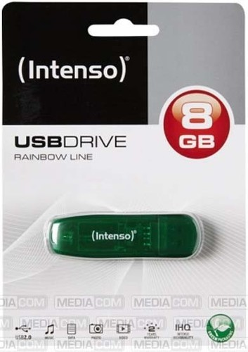 Intenso USB 2.0 Stick 8GB RainbowLine INTENSO 3502460