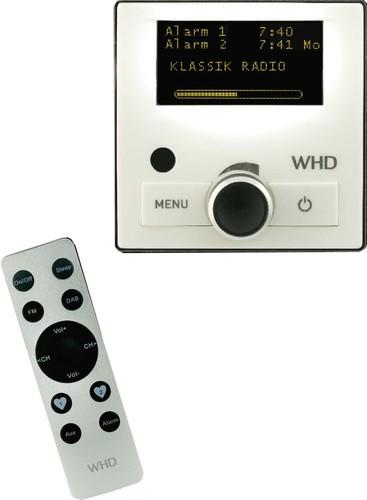 WHD DAB+ Radio UP sw,mit FB DAB+UP-Radio-RC sw
