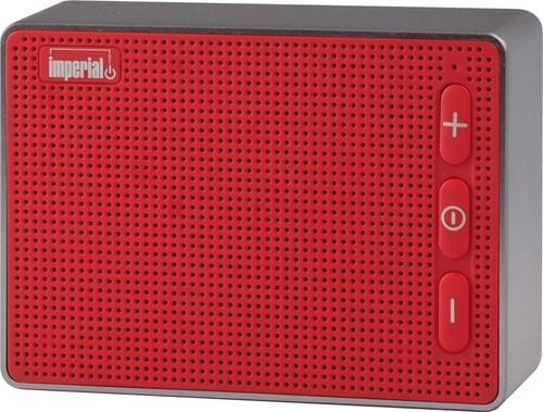 IMPERIAL BT-Lautsprecher mobil 4.2,Audio Speaker IMPERIAL BAS2 rot