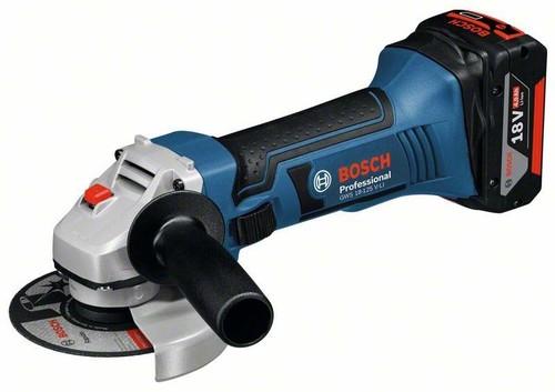 Bosch Power Tools Akku-Winkelschleifer 18V o.Akku+Ladegerät GWS 18-125 V-LI