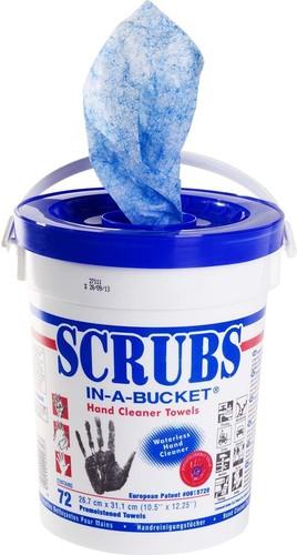 ITW Spit Scrubs-Reinigungstücher im Behälter A72
