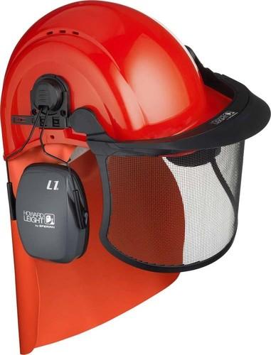 Honeywell Safety Forstarbeiter-Set Helm mit Anbauteilen 1017291