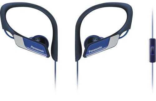 Panasonic Deutsch.CE Kopfhörer Sport,m.Headset RPHS35MEA bl